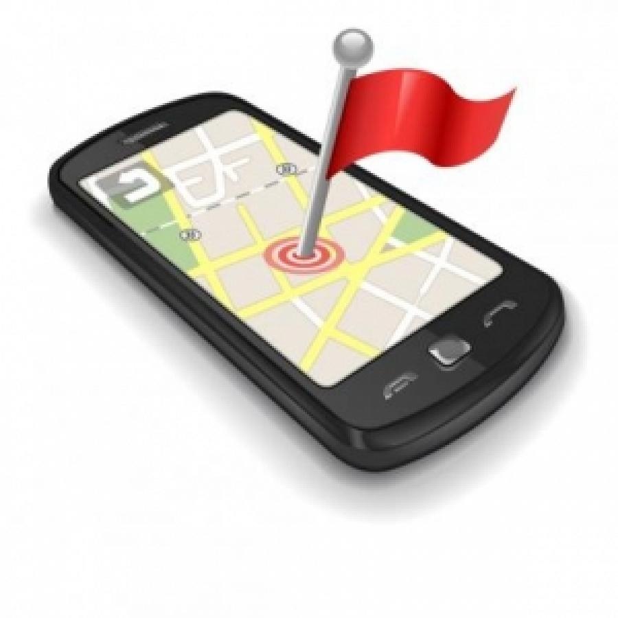 smartphone mit ortung